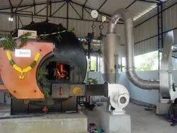 Solid Fuel Fired 500 kg/hr Steam Boiler IBR Approved