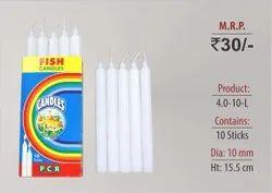 Wax Plain Candle 4.0-10-L