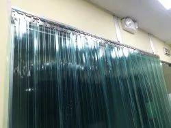 Green PVC Strip Curtains