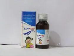 Allord Cold ( Dextromethorphan 10mg + Cetrizine 5mg+ Ambroxol 15mg+ Paracetamol 125mg)