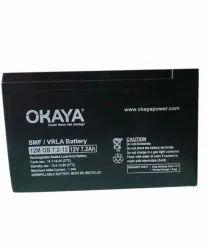 12v,7ah Okaya SMF VRLA Battery