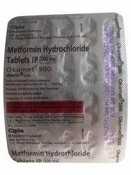 Cipla 500mg Metformin Hydrochloride Tablet