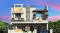 Residential Plain,Modular Commercial Building Construction Work, in Odisha