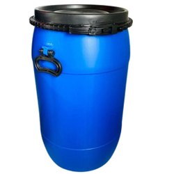 1 Chemicals 60 Litre HDPE Full Open Top Mouth Drum