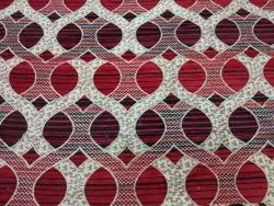 Embroidered Sofa 54inch Chenille Fabric, 120GSM