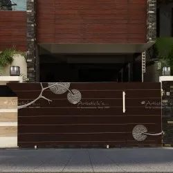 Contemporary Metal Design Gate