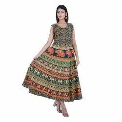 Mandala Print Women Dress