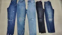 Regular High Rise Women's Denim Jeans