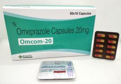 Omeprazole 20mg Caps - OMCOM 20
