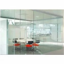 Saint Gobain Hinged Toughened Glass Door, For Office, Thickness: 10mm,12mm