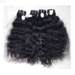 Virgin Indian Temple Raw Unprocessed Natural Human Hair