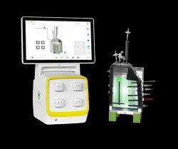 Solaris Biotechnology - Elara Flat With Single & Parallel Autoclavable Flat Photobioreactor