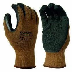 Brown Frontline Latex Coated Gloves