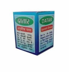 Datar Ayurvedic Ointment, Packaging Type: Bottle, Packaging Size: 25 Gm