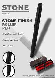 Stone Finish Roller Pen