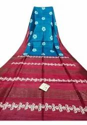 Cotton Printed Casual Wear Saree, 6.3 m (with blouse piece)
