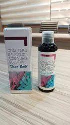 Coal Tar Salicylic Acid Scalp Solution
