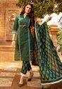 Summer Love Cotton Thread Work Kurti With Pant Dupatta