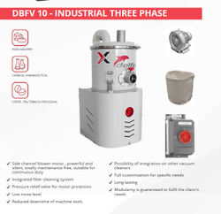 Delfin DBFV 10 Industrial  Dust Collector