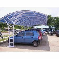 Polycarbonate Parking Shed