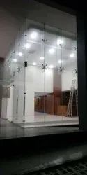 Spider Fitting Toughened Glass