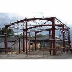 Steel Prefab Pre Engineered Building Structure Shed