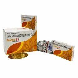 Cholecalciferol 6000 IU Soft Gelatin Capsules