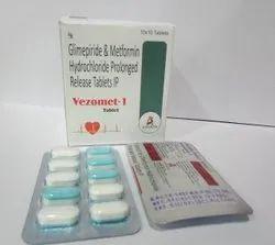 Glimepiride Metformin Hydrochloride Tablet