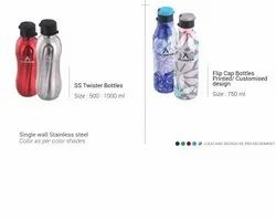 SS Twisted Bottles