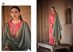 Deepsy  Linen Silk With Embroidery Salwar Suit