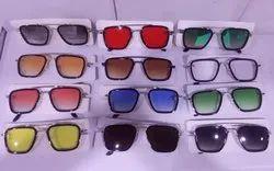 Silver Tony Stark Sunglasses