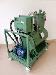 NEAT CUTTING OIL / SUMP CLEANER MACHINE
