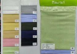 Multicolor Pure Cotton Satin Self Lining Mens Kurta Fabric