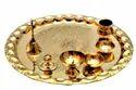 Brass Pooja Thali For Pooja Purpose & Corporate Gift