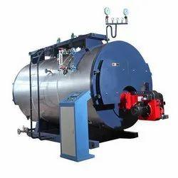 Oil & Gas Fired 1000 kg/hr Horizontal Steam Boiler