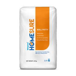 Homsure Walplast White Cement Based Wall Putty 5 Kg