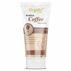 Orgello Arabica Coffee Face Wash, Age Group: Adults, Packaging Size: 100 ml