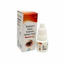 Moxifloxacin & Ketorolac Tromethamine Ophthalmic Solution