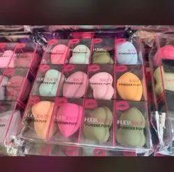 Multicolor Unisex Huda Beauty Makeup Foundation Sponge Puff, For Professional