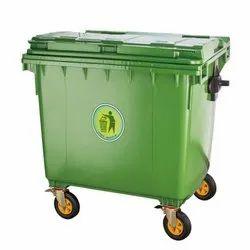 1100 L Industrial Dustbin Wheeled High Quality