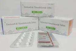 Etoricoxib 60mg+Thiocolchiocoside 4mg Tablet