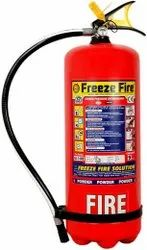 A B C Dry Powder Type 9kg ABC Fire Extinguisher, For Industrial Use