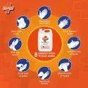 Savlon Professional Germ Protection Liquid Handwash Refill Can,5 Ltr