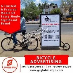 Flex with iron frame Outdoor Bicycle Advertising, in Delhi Ncr