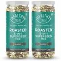 Healthy Treat Roasted 5 In 1 Super Seed Mix 300 Gm - Pack Of 2-150 Gm Each