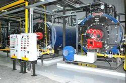 Oil & Gas Fired 600 kg/hr Steam Boiler IBR Approved