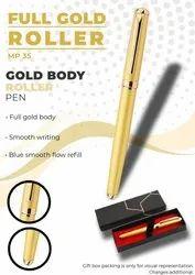 Full Gold Body Roller Pen