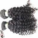 Natural Raw Indian Deep Curly Temple Virgin Human Hair