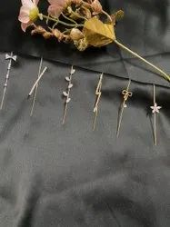 Golden Fashion Ear Cuffs