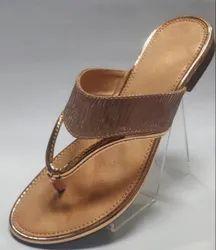 Polka PVC Fancy Flat Slipper, Size: 40